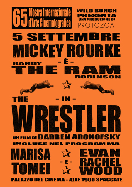 Locandina film THE WRESTLER